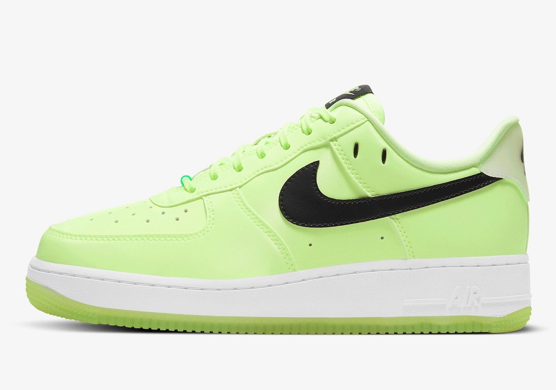 """CT3228-701 Nike Air Force 1 Low """"Have A Nike Day"""" - Barely Volt/Wit"""