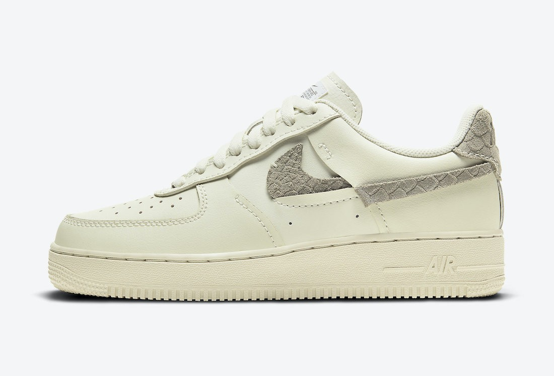 DH3869-001 Nike Dames Air Force 1 Low LXX - Sea Glass/Light Arm