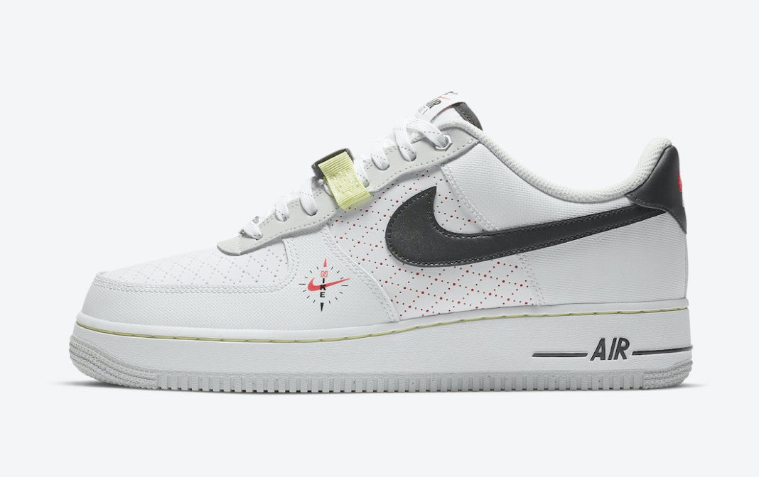 """DC2526-100 Nike Air Force 1 Low """"Fresh Perspective"""" - Wit/Zwart"""