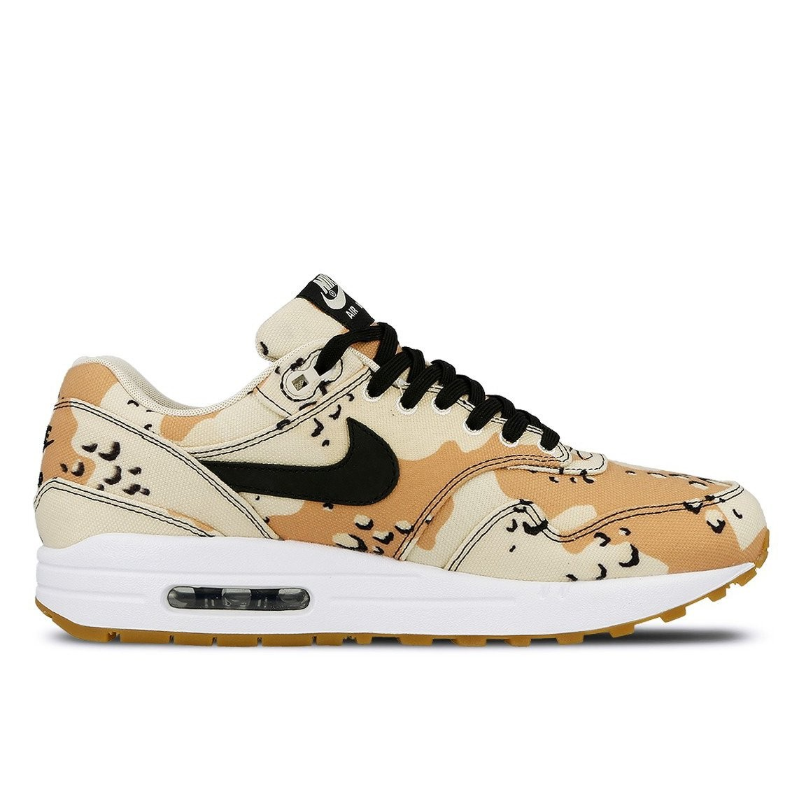 875844-204 Nike Air Max 1 Premium Schoenen - Beach/Zwart-Praline-Light Cream