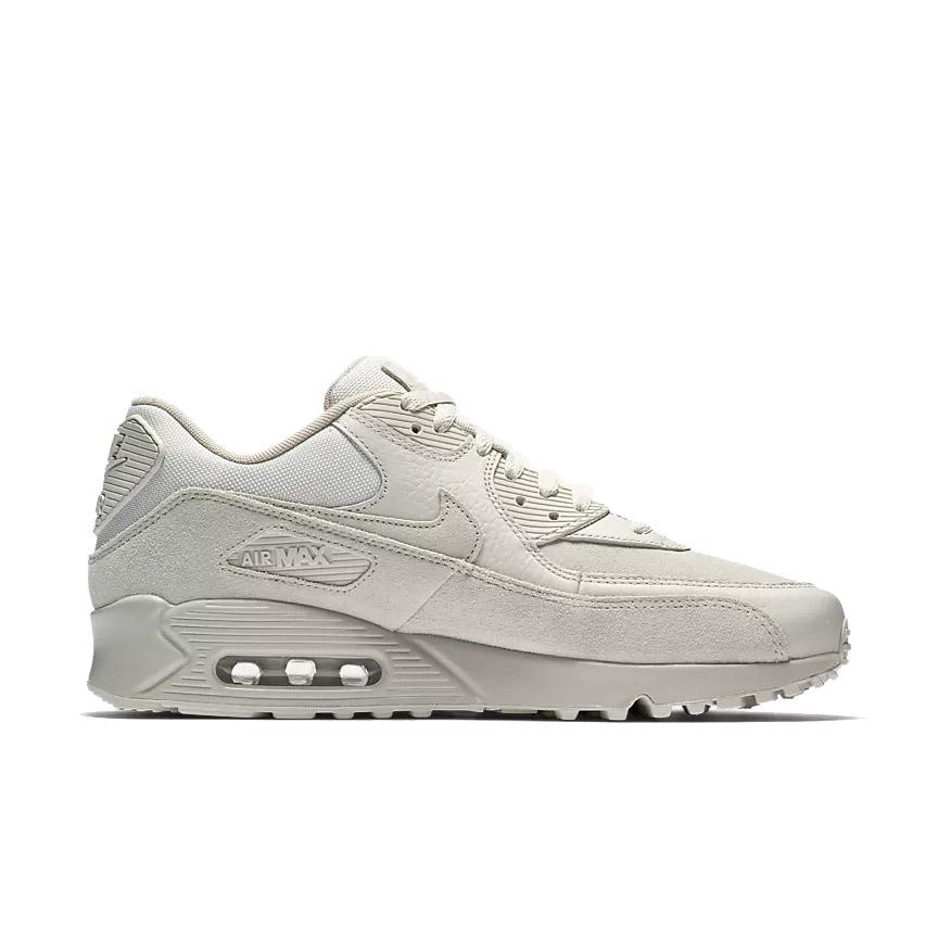 700155-013 Nike Air Max 90 Premium Schoenen - Light Bone/String