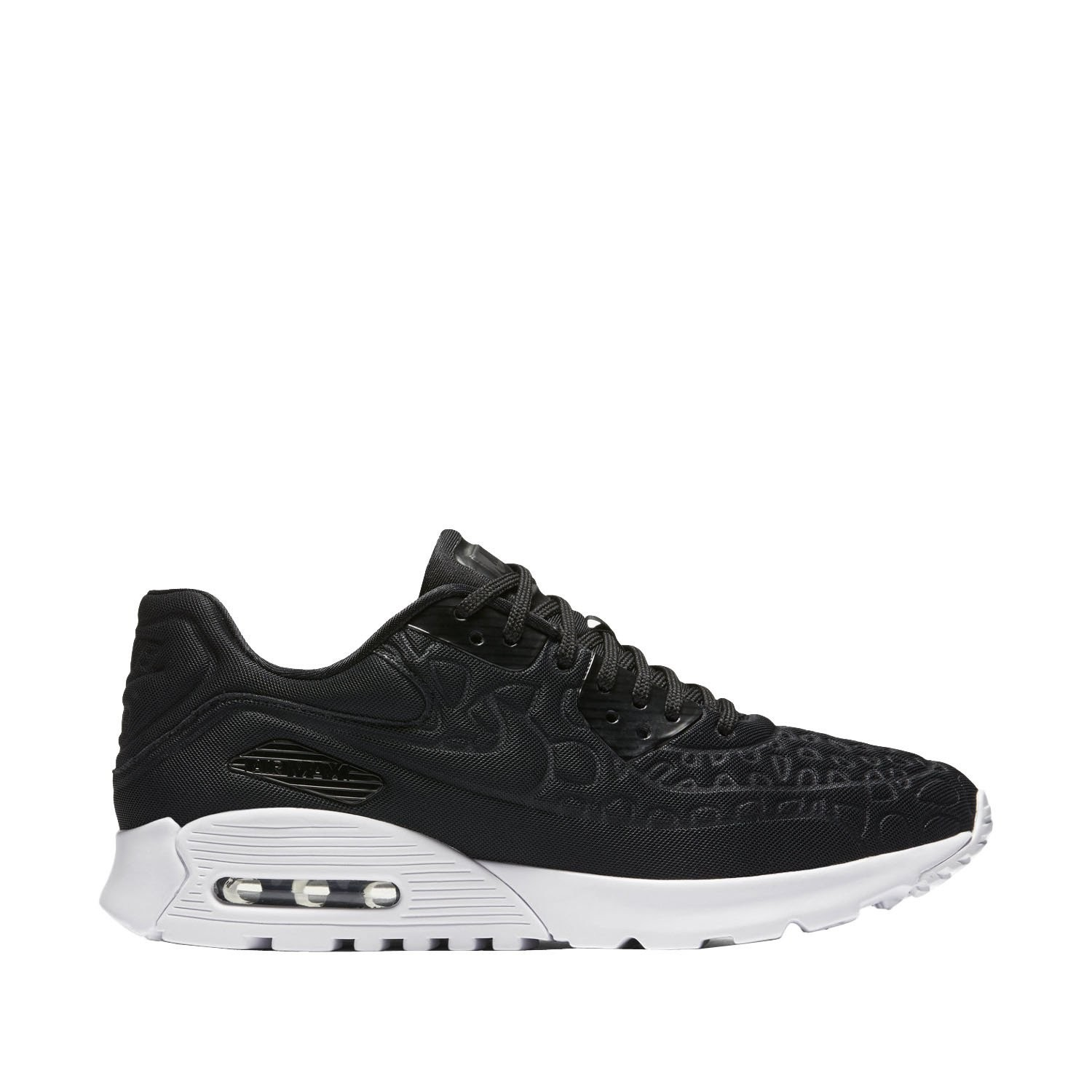 844886-001 Nike Dames Air Max 90 Ultra Plush Schoenen - Zwart/Wit
