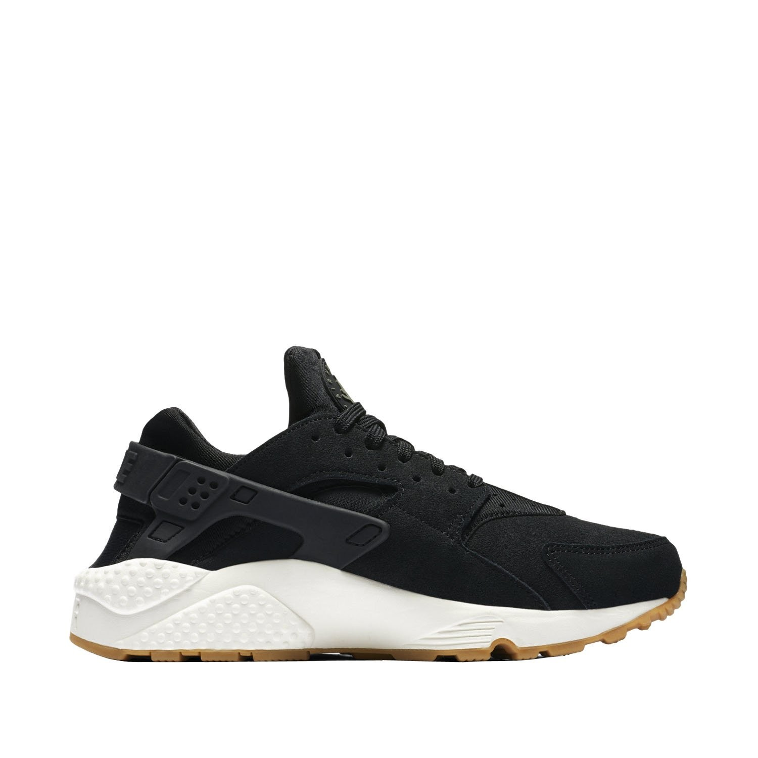 AA0524-001 Nike Dames Air Huarache Run SD - Zwart/Groen/Sail