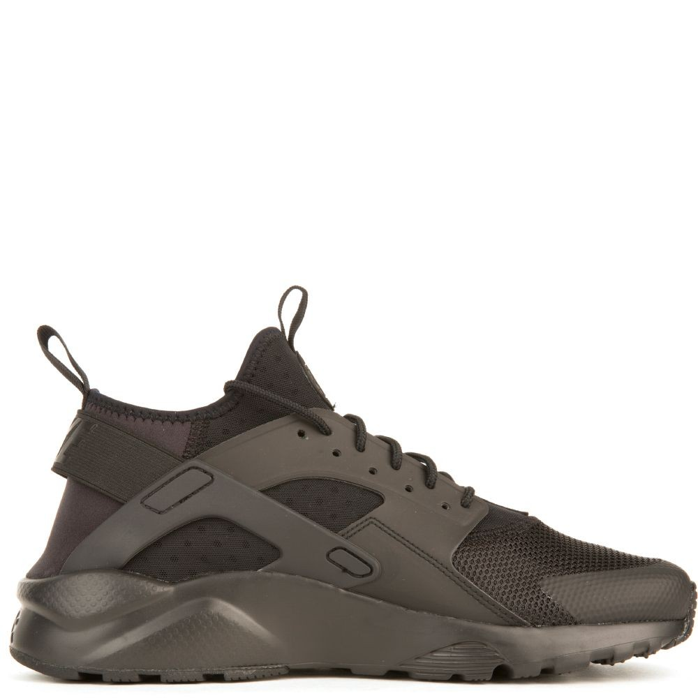 819685-002 Heren Nike Air Huarache Run Ultra - Zwart/Zwart-Zwart