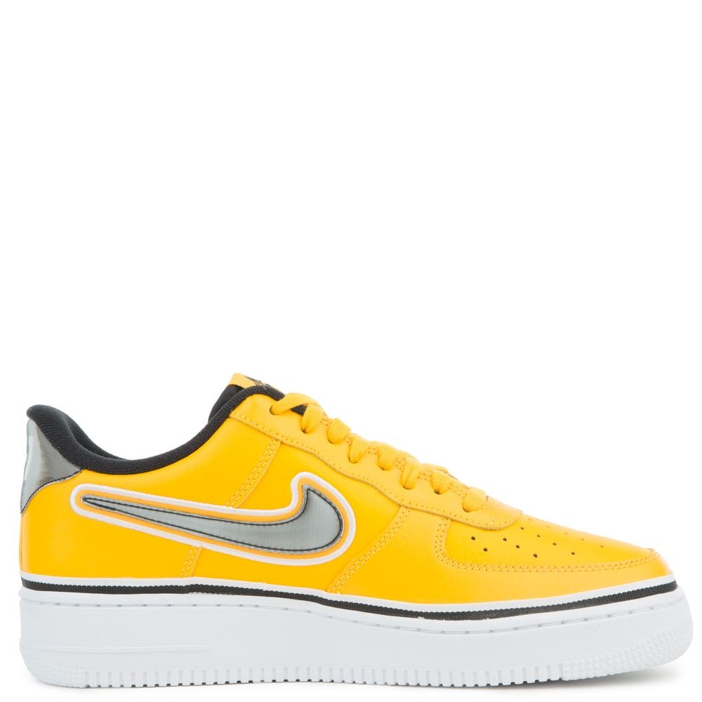 BV1168-700 Nike Air Force 1 Low - Goud/Zwart-Wit
