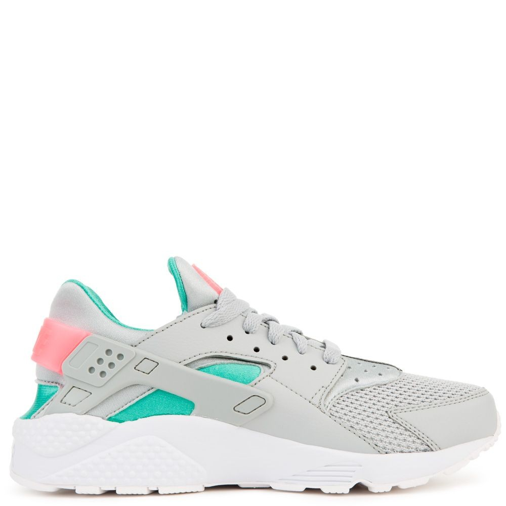 318429-053 Nike Air Huarache - Grijs/Sunset Pulse/Groen
