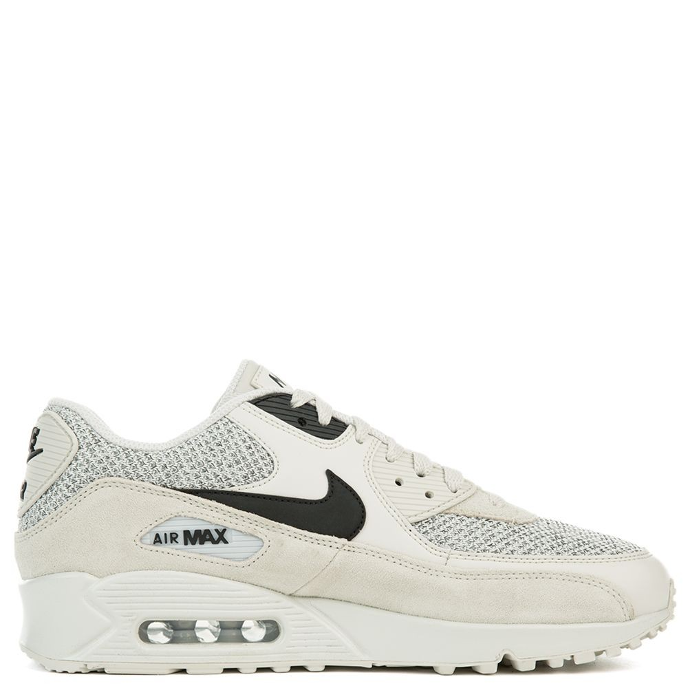 537384-074 Nike Air Max 90 Essential - Light Bone/Zwart-Pure Platinum