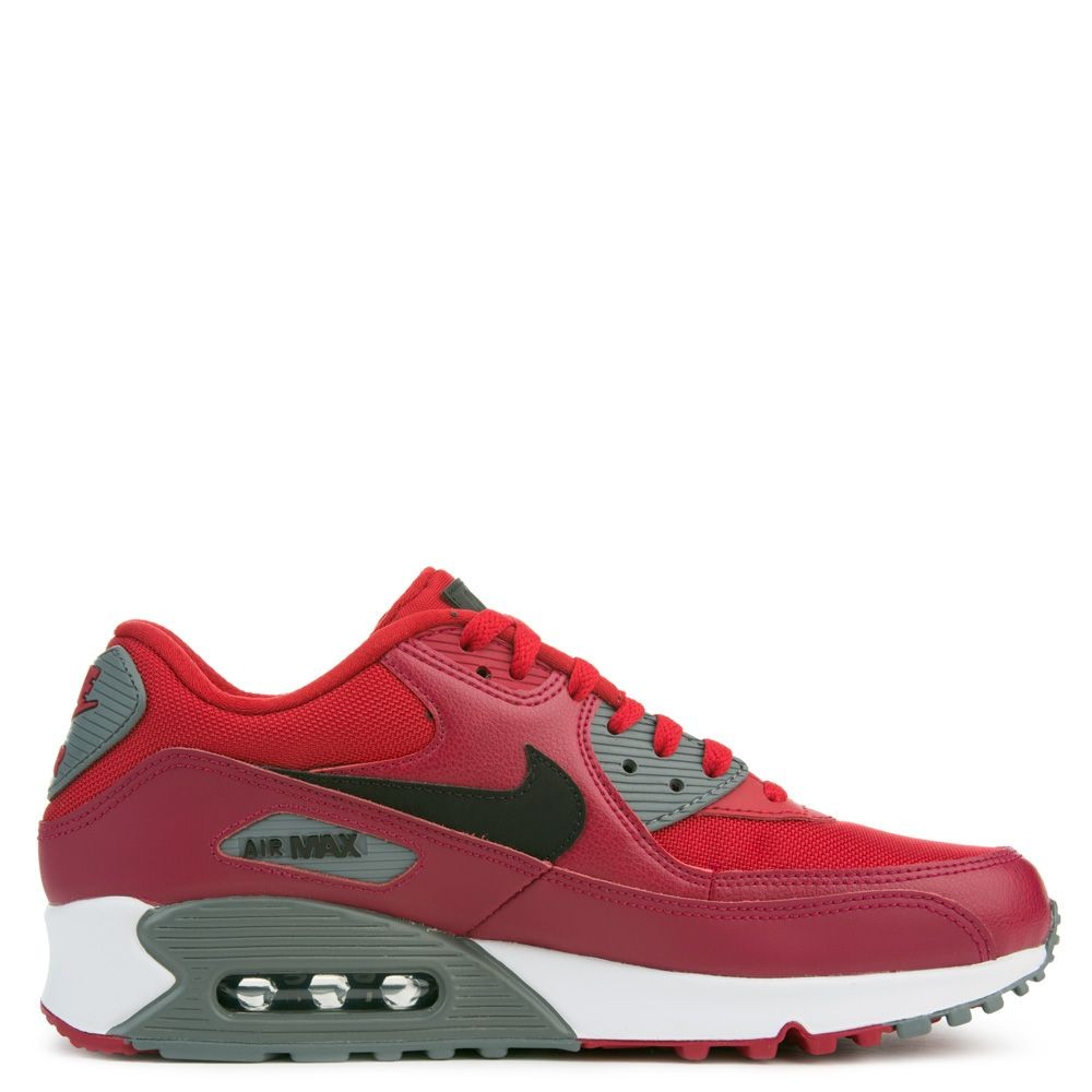 537384-606 Nike Air Max 90 Essential - Gym Rood/Zwart/Rood