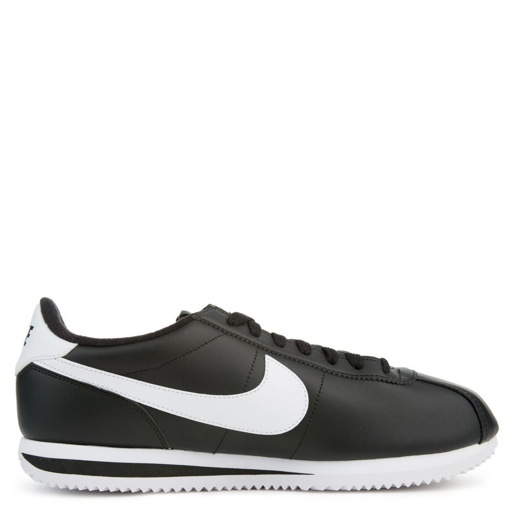 819719-012 Heren Nike CORTEZ BASIC LEATHER Schoenen - Zwart/Wit