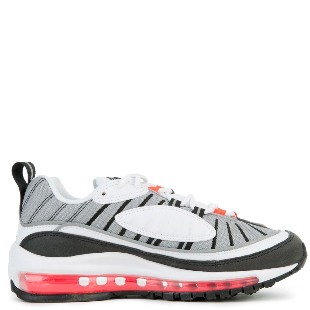 AH6799-104 Dames Nike Air Max 98 - Wit/Rood/Zilver
