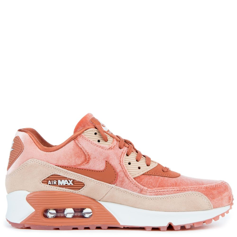 898512-201 Dames Nike Air Max 90 LX - Dusty Peach/Dusty Peach/Beige