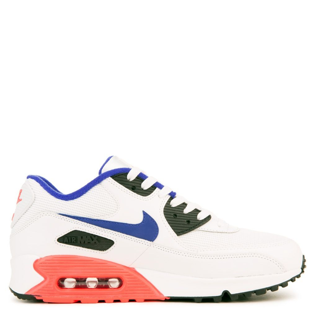 537384-136 Nike Air Max 90 Essential - Wit/Ultramarine-Rood