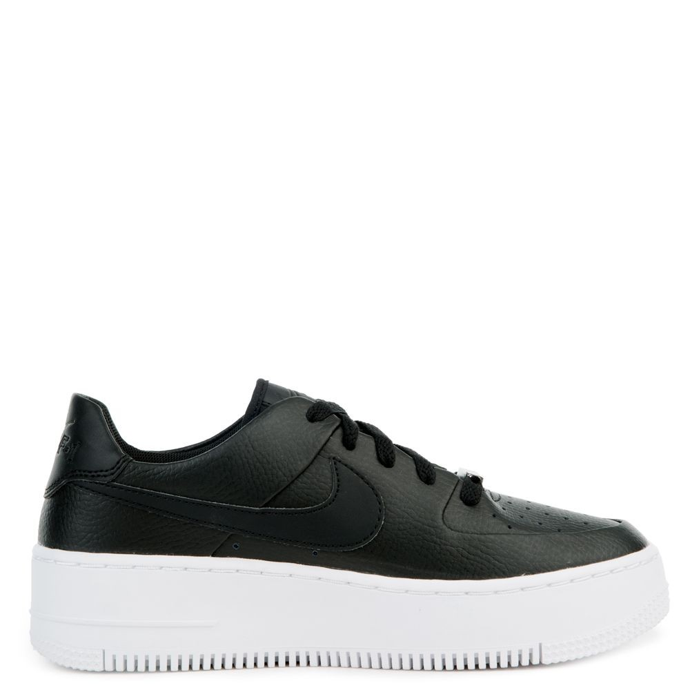 AR5339-002 Nike Air Force 1 Sage Low - Zwart/Zwart-Wit