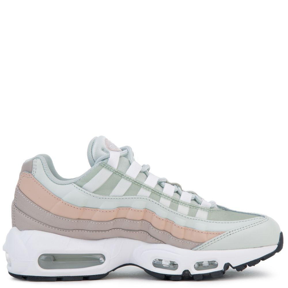 307960-018 Nike Air Max 95 - Licht zilver/Wit-Moon Particle