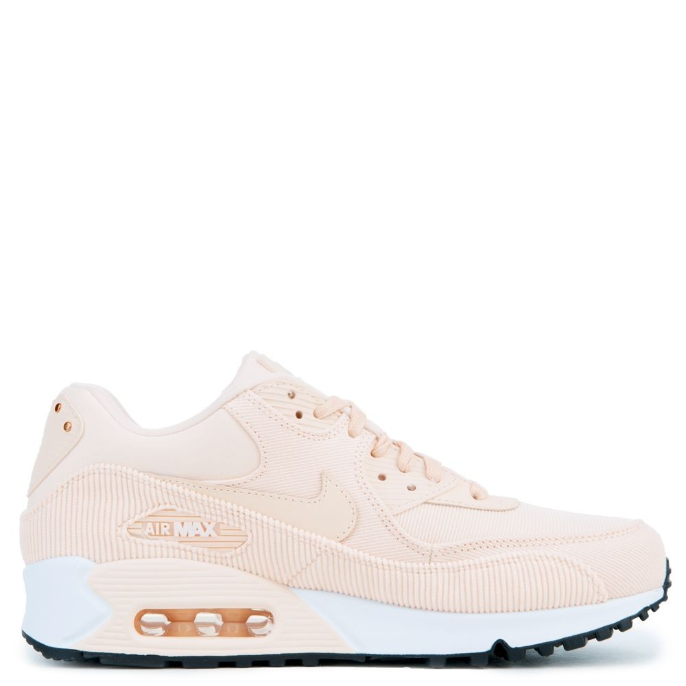 921304-800 Dames Nike Air Max 90 Leather - Guava Ice/Zwart-Wit
