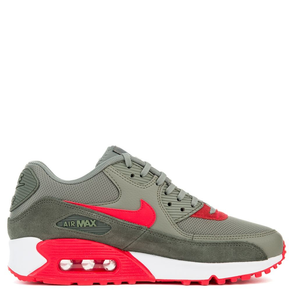 325213-044 Nike Air Max 90 - River Rock/Rood-Dark Stucco