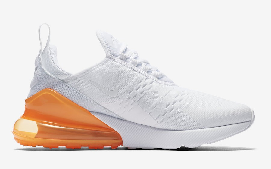 Nike Air Max 270 Wit/Oranje AH8050-102