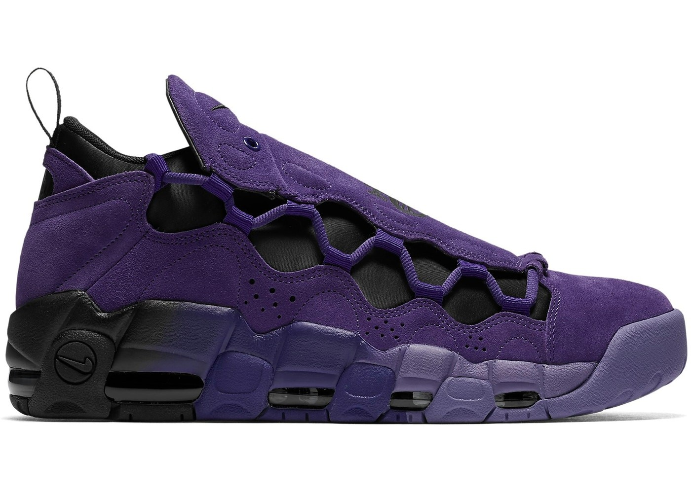 Nike Air More Money AQ2177-500 - Paars/Zwart