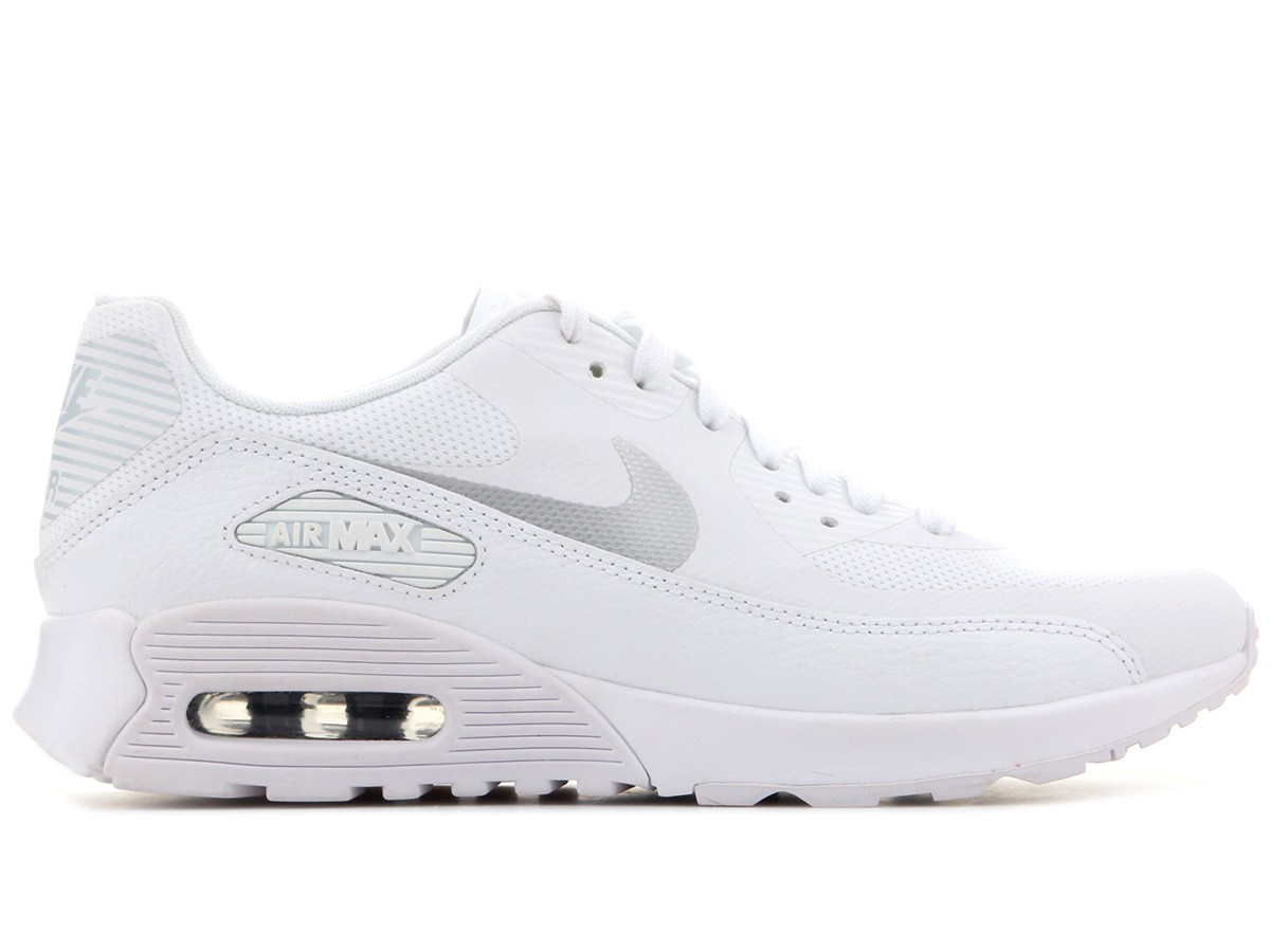 Nike Dames Air Max 90 Ultra 2.0 Wit/Grijs - 881106-101