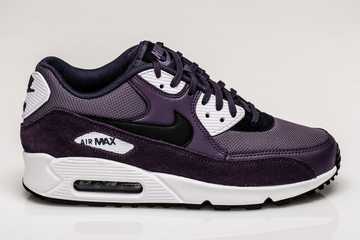 Nike Dames Air Max 90 Dark Raisin/Zwart 325213-507