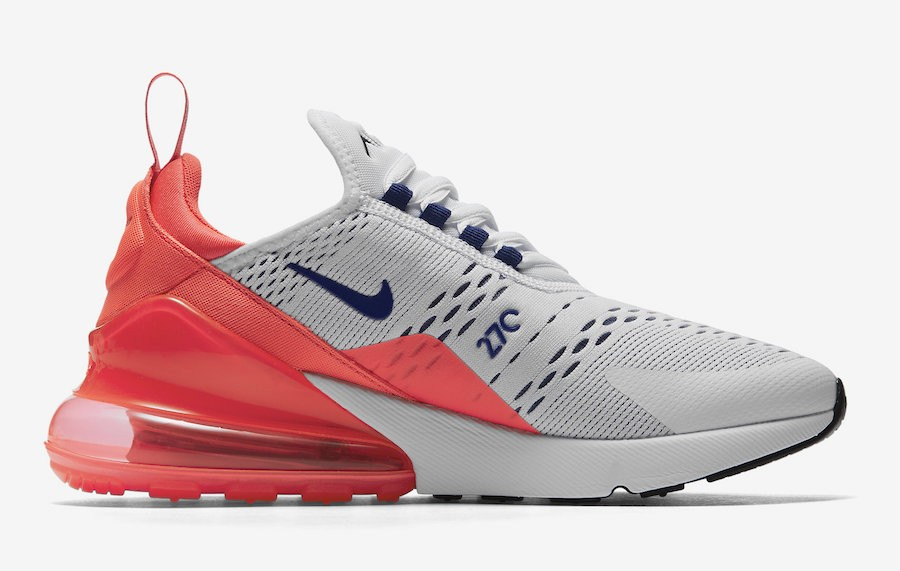 Nike Dames Air Max 270 Ultramarine/Rood AH6789-101
