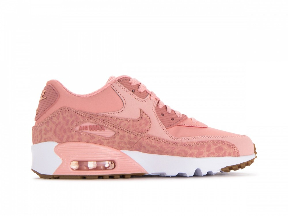 897987-601 Nike Air Max 90 Leather Se Gs - Coral Stardust/Roze
