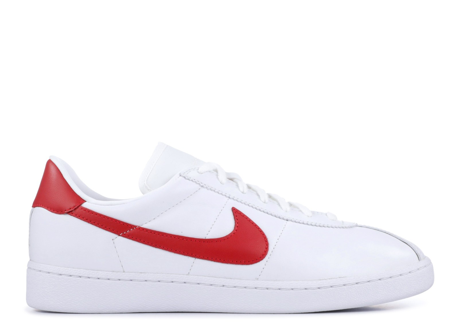 Nike Bruin Leather Wit/Rood 826670-160