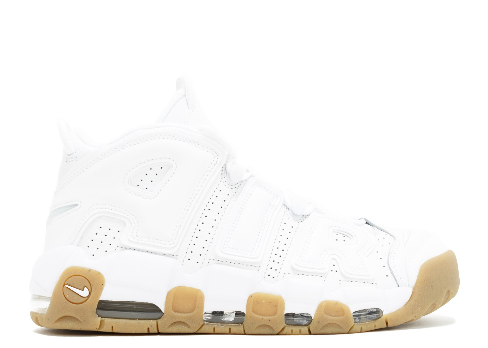 Nike Air More Uptempo Wit/Wit/Bruin 414962-103