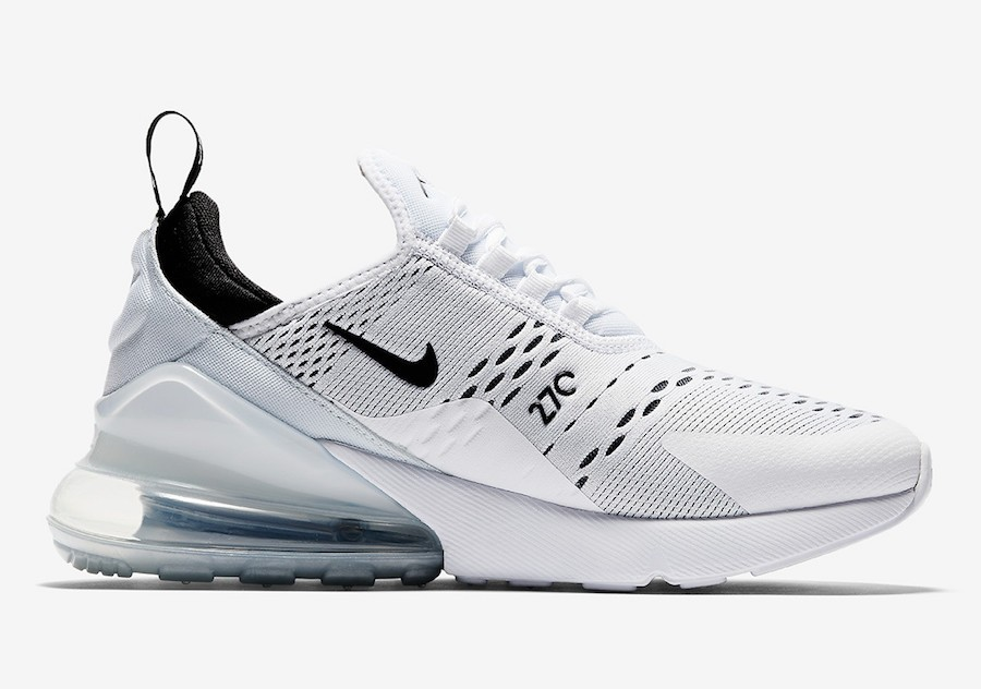Nike Dames Air Max 270 - Wit/Zwart AH6789-100