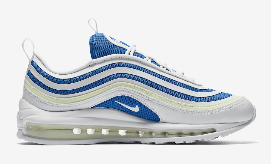 Nike Air Max 97 Ultra Sprite Wit/Blauw AH6806-101