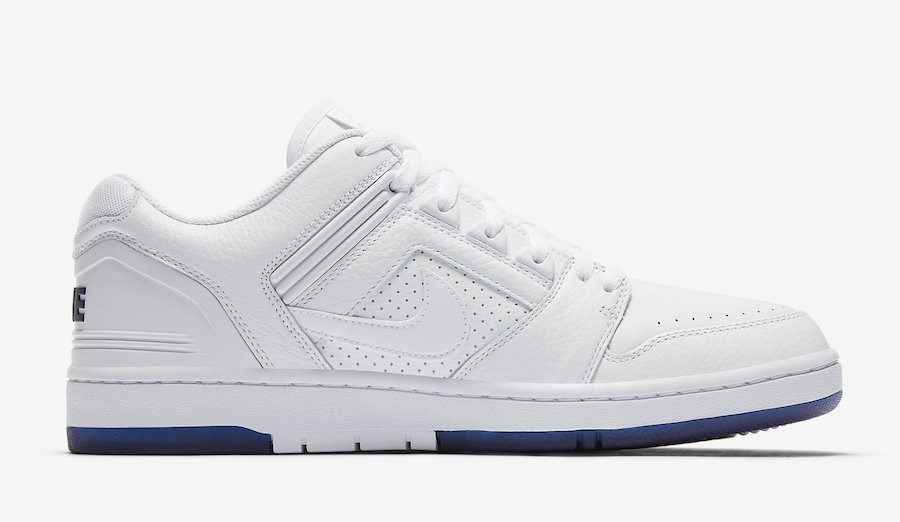 AO0298-114 Nike SB Air Force 2 Low Wit/Blauw-Wit