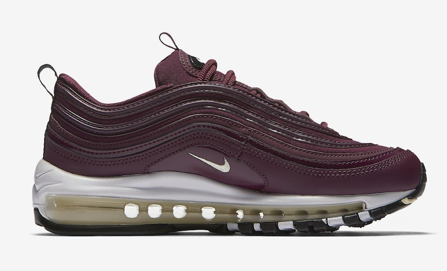 Nike Air Max 97 Premium Bordeaux Dames | 917646-601