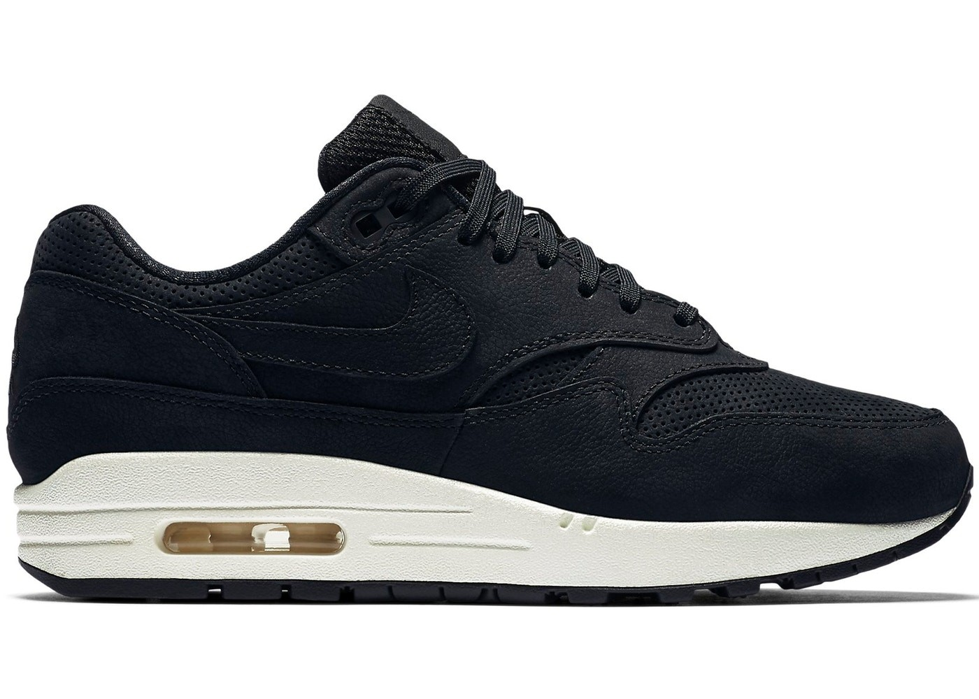 Schoenen Nike Air Max 1 Pinnacle 839608-005 - Zwart/Sail/Zwart