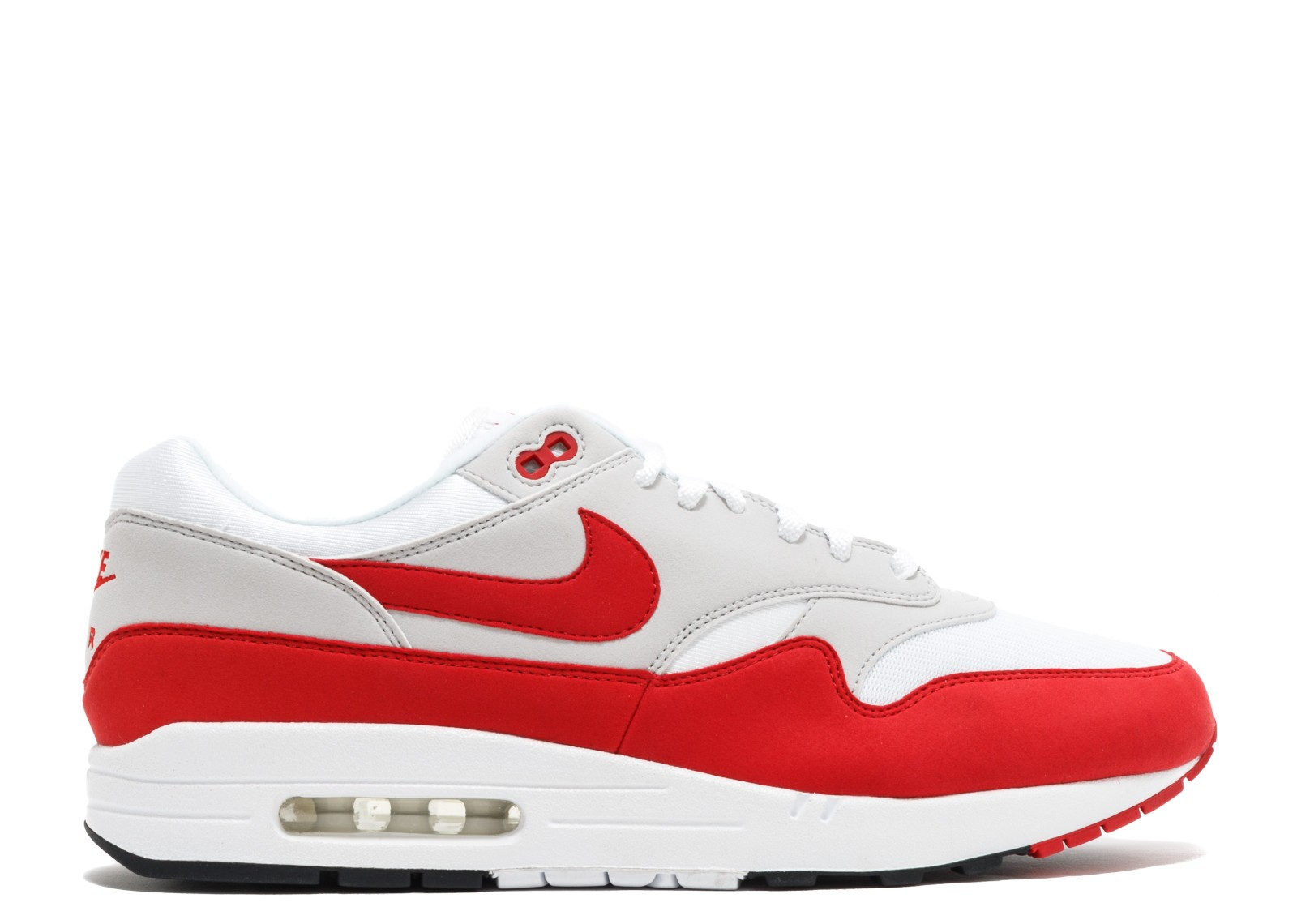 Nike Air Max 1 Anniversary Wit/Rood 908375-100