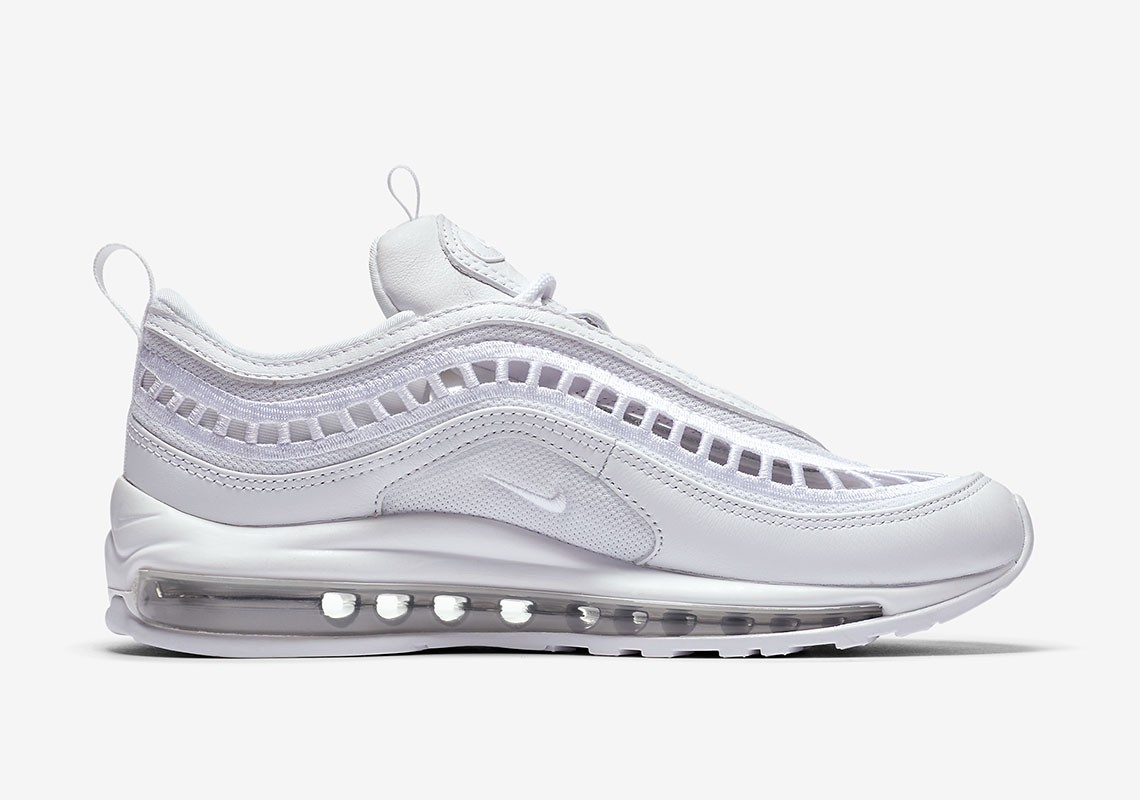 AO2326-100 Nike Air Max 97 Ultra '17 Wit/Wit-Grijs