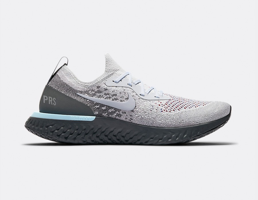 AV7013-200 Nike Epic React Flyknit - Light Cream/Grijs-Donker Grijs
