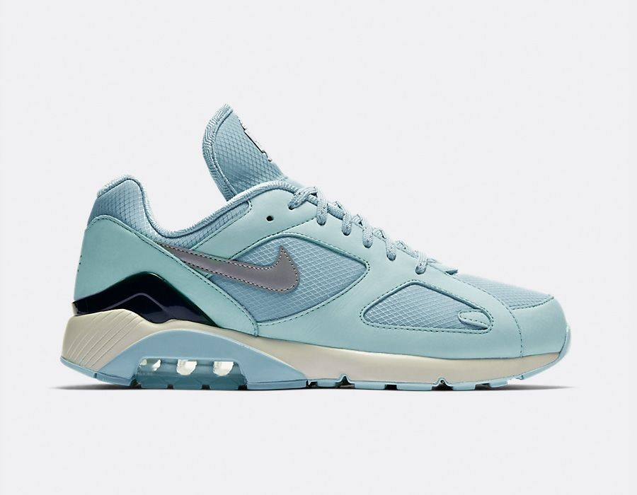 AV3734-400 Nike Air Max 180 Schoenen - Ocean Bliss/Metallic Silver-Igloo