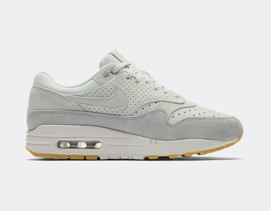 454746-019 Nike Dames Air Max 1 Premium - Grijs/Grijs-Light Pumice