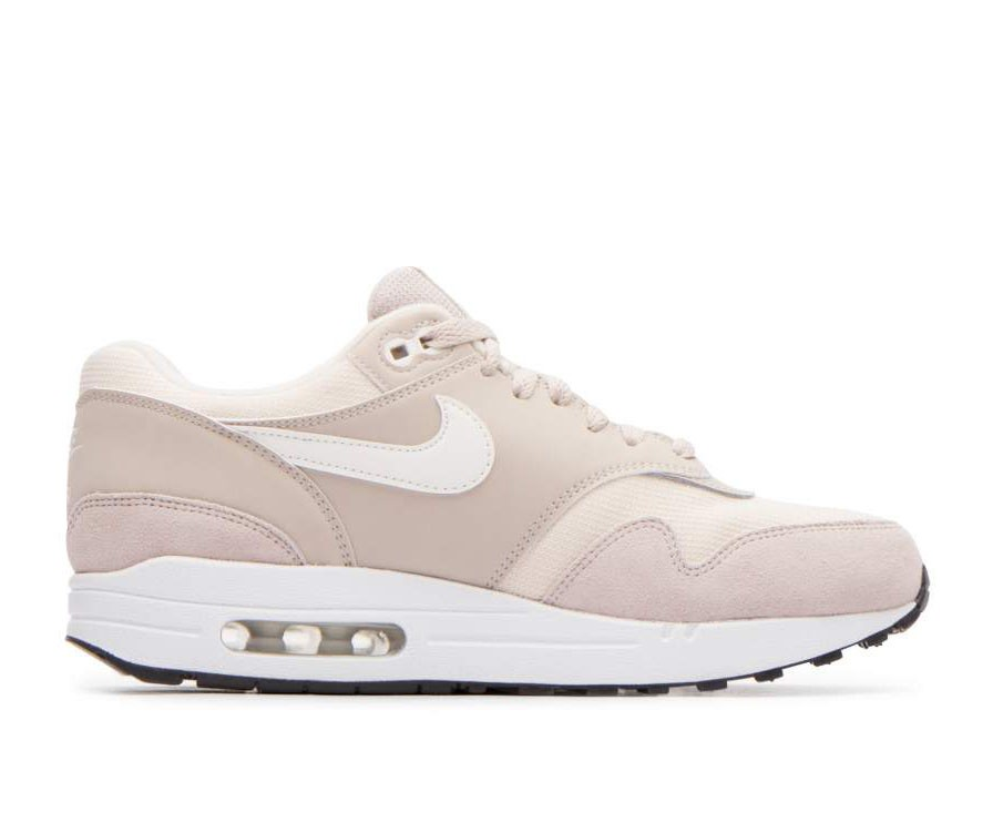 319986-207 Nike Dames Air Max 1 Schoenen - Strings/Sail-Light Cream-Zwart