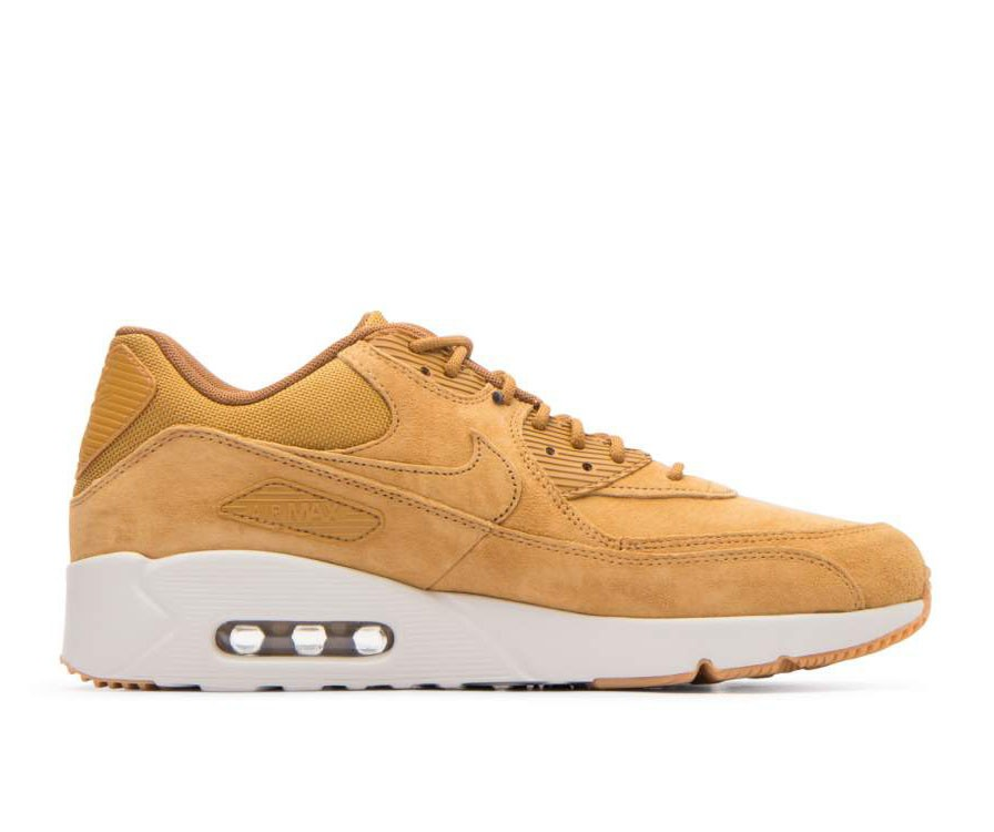 924447-700 Nike Air Max 90 Ultra 2.0 LTR - Wheat/Wheat/Light Bone/Bruin