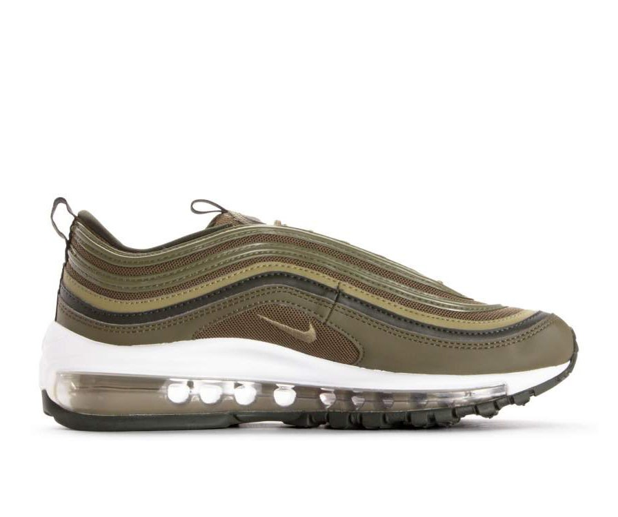 921733-200 Nike Dames Air Max 97 - Olive/Olive-Sequoia