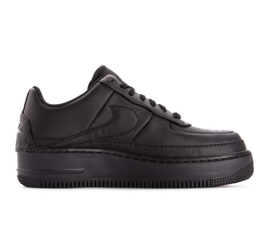 AO1220-001 Nike Dames Air Force 1 Jester XX - Zwart/Zwart-Zwart