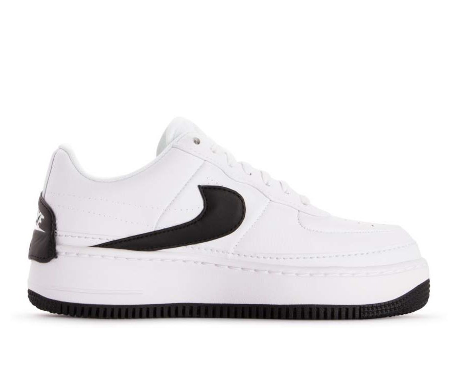 AO1220-102 Nike Dames Air Force 1 Jester XX - Wit/Zwart