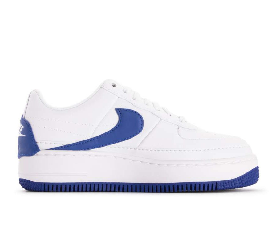 AO1220-104 Nike Dames Air Force 1 Jester XX - Wit/Game Royal