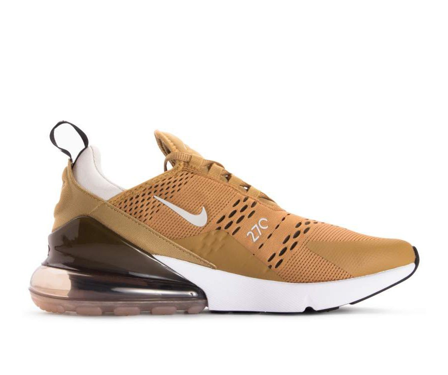 AH8050-700 Nike Air Max 270 - Goud/Zwart-Light Bone-Wit
