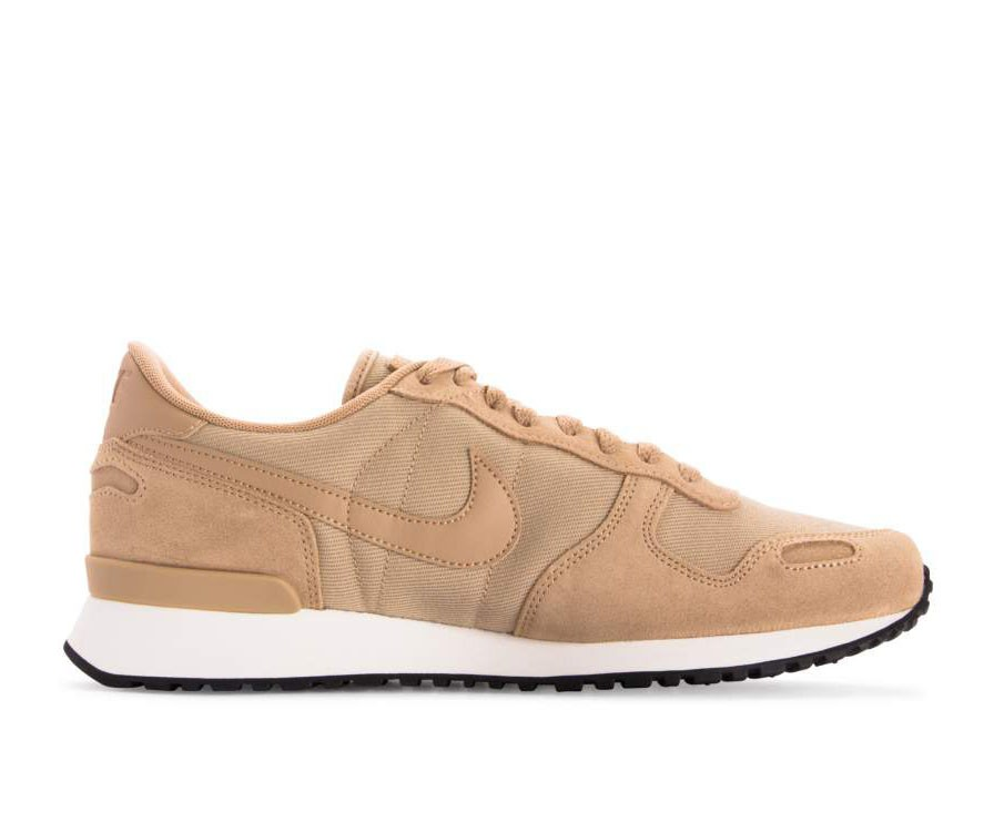 918206-201 Nike Air Vortex Leather Schoenen - Desert/Desert-Sail-Zwart