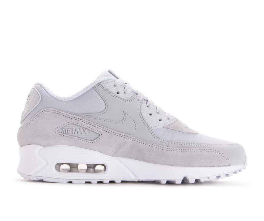 AJ1285-002 Nike Air Max 90 Essential - Pure Platinum/Pure Platinum/Wit