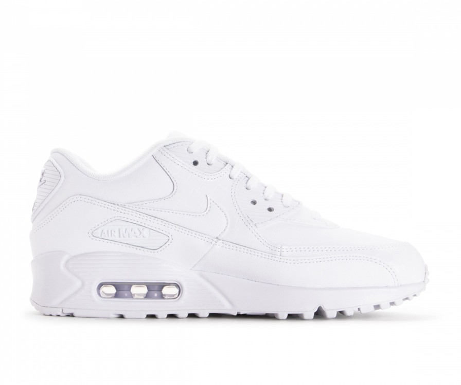 325213-133 Nike Air Max 90 Schoenen - Wit/Wit/Wit