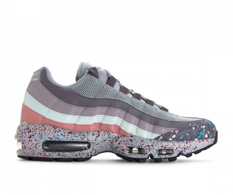 918413-002 Nike Dames Air Max 95 SE - Light Pumice/Anthracite/Gunsmoke