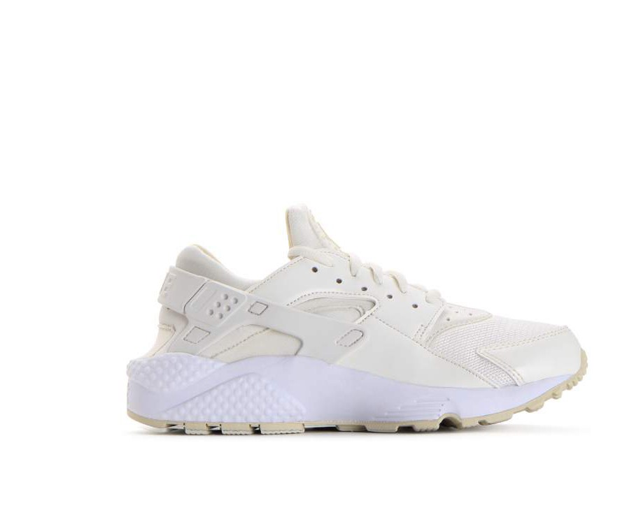 634835-115 Nike Dames Air Huarache Run Schoenen - Sail/Fossil-Wit